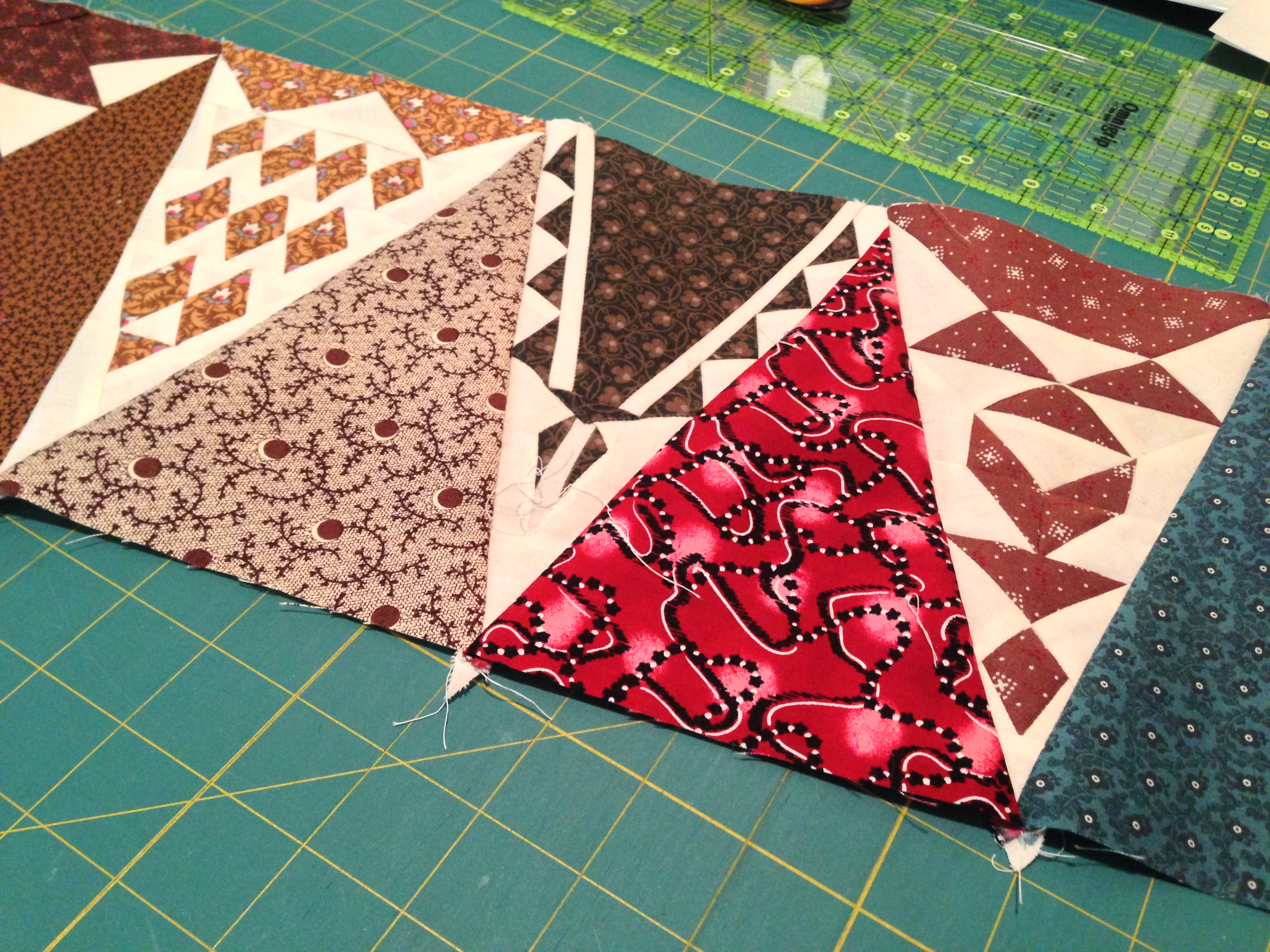Just Takes 2™ Schoolhouse Quilt – Block 2 and Schoolhouse #2 ... : dear jane quilt pattern - Adamdwight.com