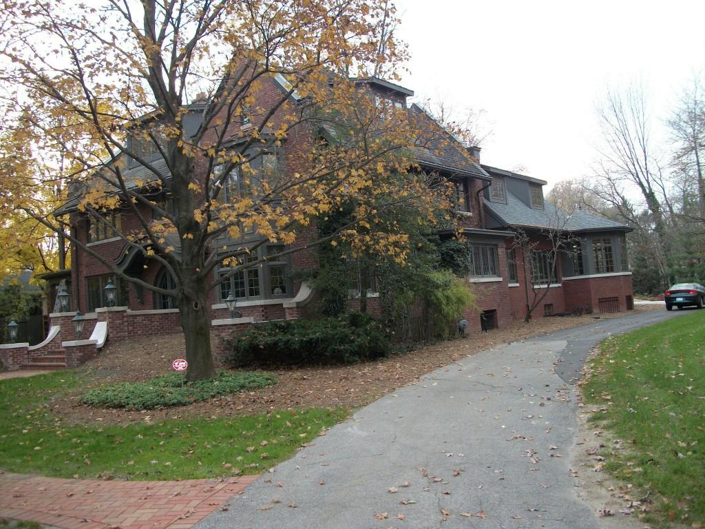 Frederick A Wurzburg residence