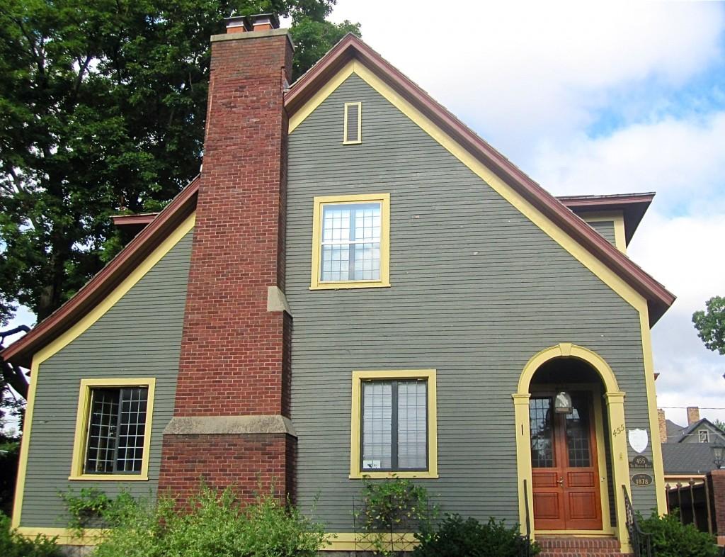 Jane Belknap Wurzburg childhood home 455 madison