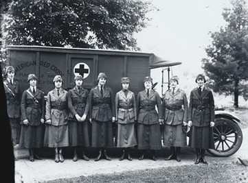 circa 1920s plainfield red cross photo
