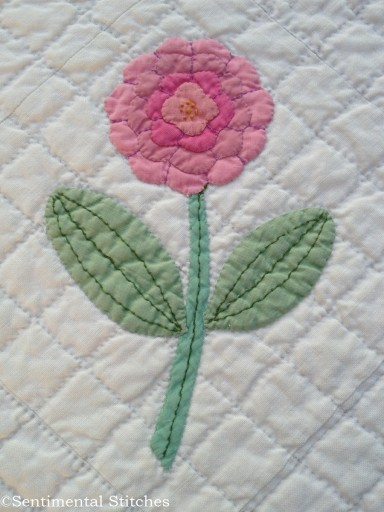 Dream Garden Applique Block