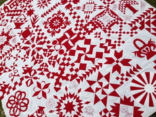 2012 Just Takes 2 Quilt - IMG_1350
