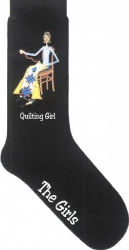 Quilting Girl Socks