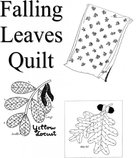 Nancy Page Club Falling Leaves Quilt