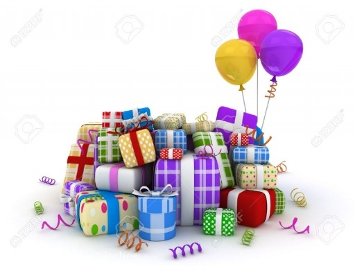 9549559-3D-Illustration-of-Gifts-in-Different-Packages-Stock-Illustration-gifts-birthday-presents