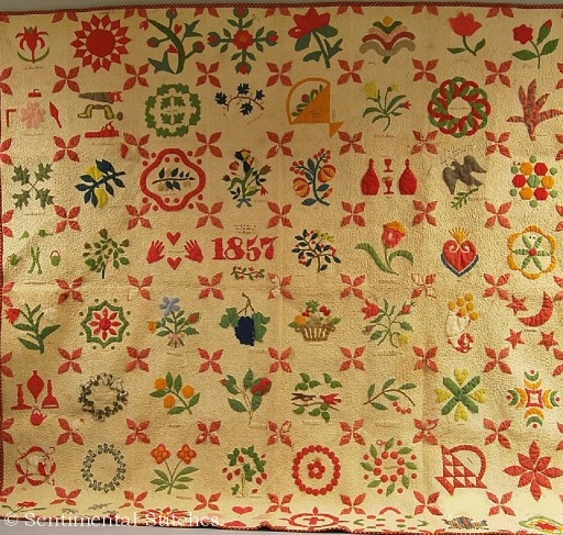 The 1857 Sampler Quilt A