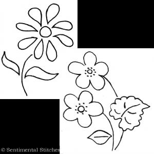 Vintage Blooms Blocks 3 and 4