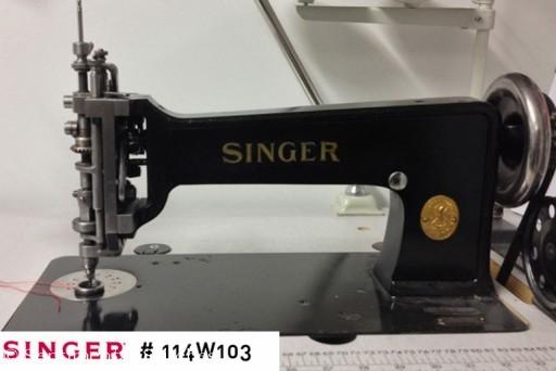 singer 114W103